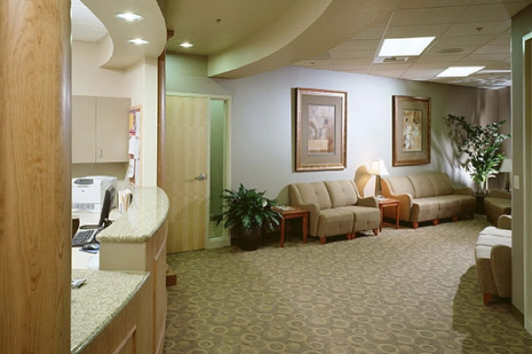 Mercy Imaging Center Roseville Lobby