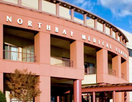 building exterior of northbay medical center