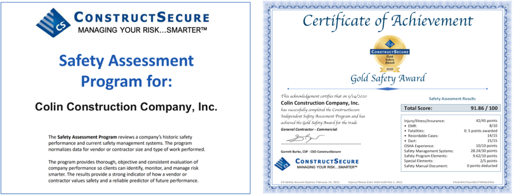 cs safety certification